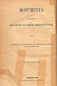 Knj. 3 : Od godine 1693 do 1780 i u Dodatku od g. 1531. do 1730 : Monumenta spectantia historiam Slavorum meridionalium