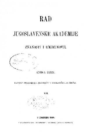 Knj. 13(1886) : RAD