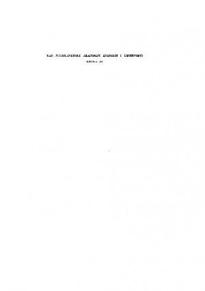 Knj. 17(1972) : RAD