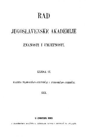 Knj. 30(1890) : RAD