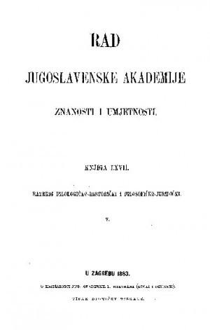 Knj. 5(1883) : RAD