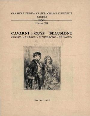 Gavarni - Guys - Beaumont: crteži - akvareli - litografije - drvorezi