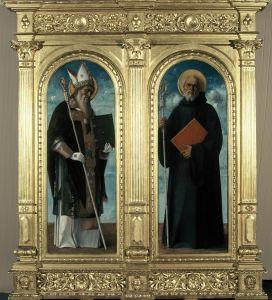 Sveti Augustin i Sveti Benedikt