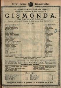 Gismonda Gluma u četiri čina / od Victoriena Sardoua