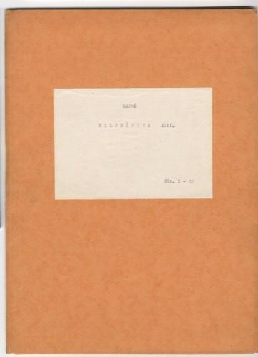 Bilježnica XIV.