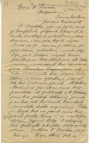 Pjesme A. Kovačića