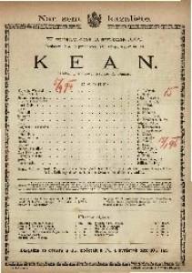 Kean : Igrokaz u 5 činova / Napisao A. Dumas