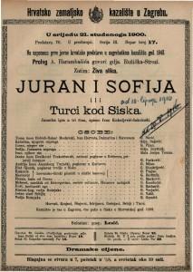 Juran i Sofija ili Turci kod Siska spisao Ivan Kukuljević-Sakcinski
