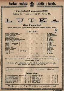 Lutka opereta u četiri čina / uglazbio Edmond Audran  =  La Poupée