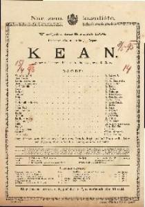 Kean Igrokaz u 5 činova / Napisao A. Dumas
