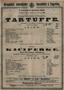 Tartuffe komedija u pet činova / od Molièra