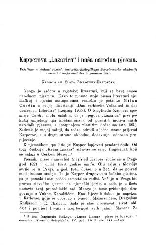 Kapperova