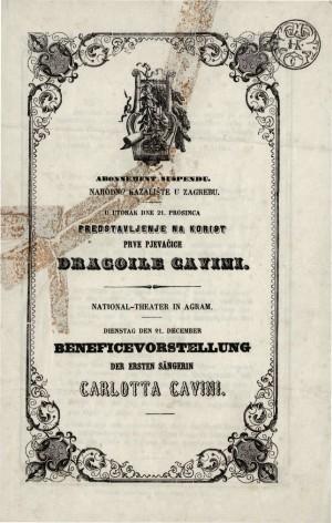 Predstavljanje na korist prve pjevačice Dragoile Cavini