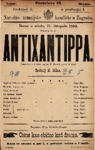 Antixantippa Vesela igra u 5 činah / napisao R. Kneisel