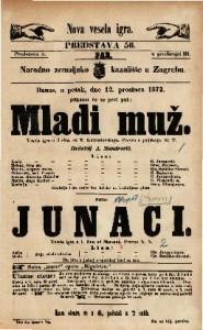 Mladi muž Vesela igra u 3 čina / od K. Korzeniovskoga