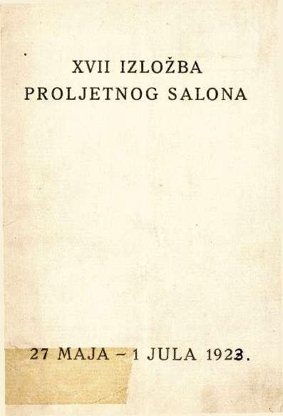 XVII izložba Proljetnog salona