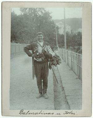 Dalmatinac u Istri [Ptašinsky, Josef (1863-1908) ]