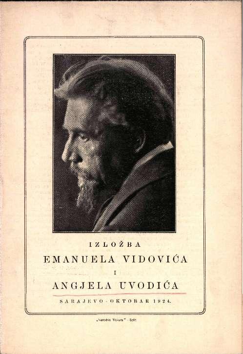 Izložba Emanuela Vidovića i Angjela Uvodića