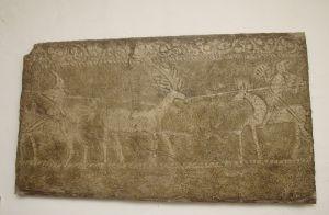 Ploča stećka s lovačkim prizorom Nepoznat