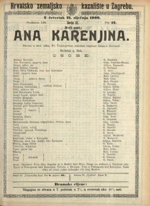 Ana Karenjina Drama u šest slika