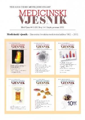 44, br. 1-4(2012) : Medicinski vjesnik