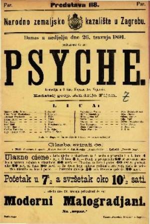 Psyche Komedija u 3 čina