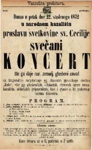 Svečani koncert proslava svetkovine sv. Cecilije