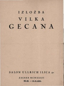 Izložba Vilka Gecana