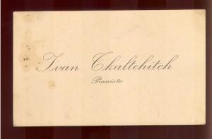 Ivan Tkaltchitch pianista