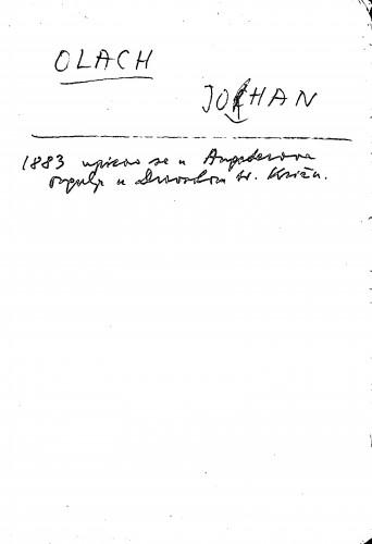 Olach Johan
