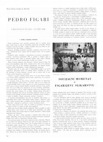 Pedro Figari : Bulletin Instituta za likovne umjetnosti Jugoslavenske akademije znanosti i umjetnosti