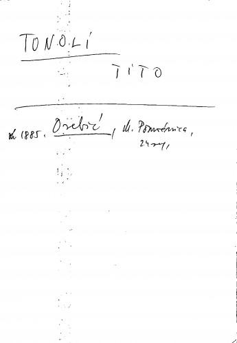 Tonoli Tito