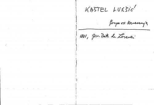 Kaštel Lukšić Gospa od Uznesenja