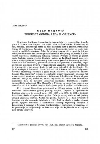 Mile Maravić