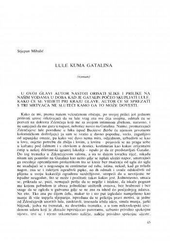 Lule kuma Gatalina