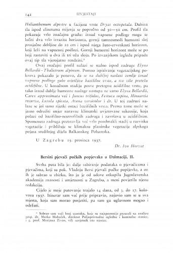 Bersini pjevači pučkih popjevaka u Dalmaciji, II / B. Širola