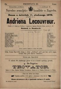 Adriena Lecouvreur drama u 5 činah / po Scribe-u i Legouve-u napisao Heinreich Grans