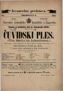Čuvidski ples velika opera u 3 čina / uglasbio Giuseppe Verdi