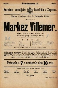 Markez Villemer : Igrokaz u 4 čina / od G. Sand-a