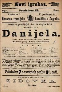 Danijela Igrokaz u 4 čina / napisao Feliks Phillippi