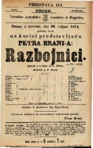 Razbojnici Igrokaz u 5 činah / od F. Šillera