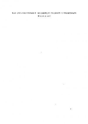 Knj. 1(1965) : RAD
