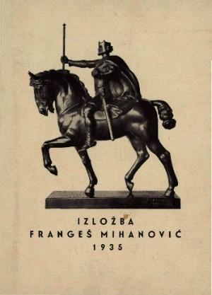 Izložba Frangeš Mihanović 1935