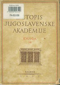 Za godine 1949-1950. Knj. 56 : Ljetopis