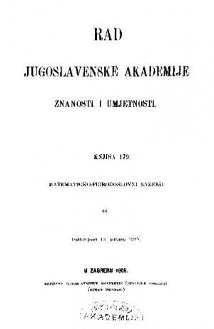 Knj. 46(1909) : RAD