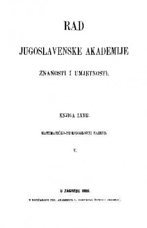 Knj. 5(1885) : RAD