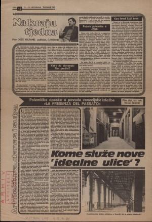 """Kome služe nove """"idealne ulice""""? : Večernji list"""