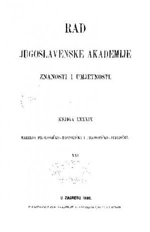 Knj. 21(1888) : RAD
