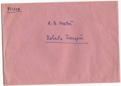 Korespondencija upućena Robertu Frangešu