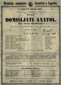 Domišljati Anatol vesela igra u tri čina / od Hennequina i Duvala